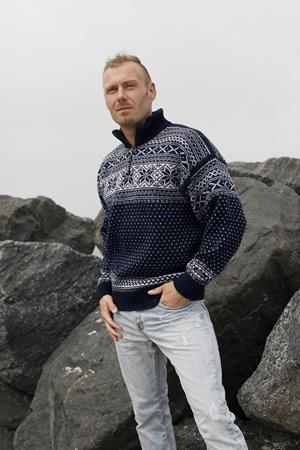Stort online udvalg i ægte Norske Sweaters fra Norwool & Gjestal af 100% ren ny uld