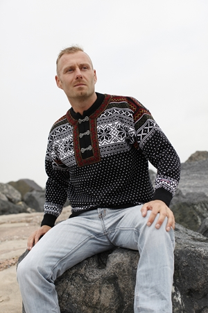 NORWOOL sweater i Bykle design & ren uld