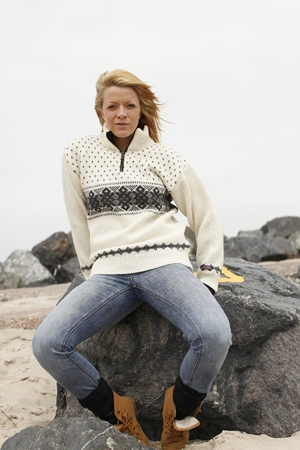 Norsk uld sweater 100% uld fra Norwool
